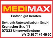 Medimax Unterwellenborn