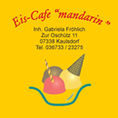 "Eis-Cafe ""mandarin"""